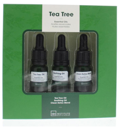 Geschenkverpakking tea tree essential oils