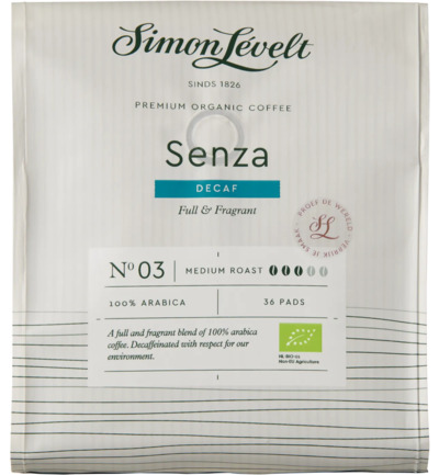 Cafe pads senza decaf