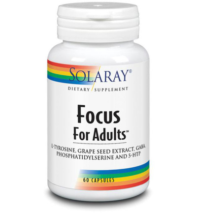 Focus for adults L-tyrosine & GABA