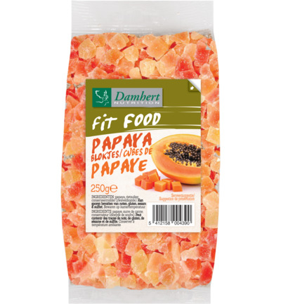 Fit food papayablokjes