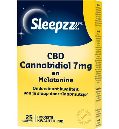 Melatonine met CBD 7 mg