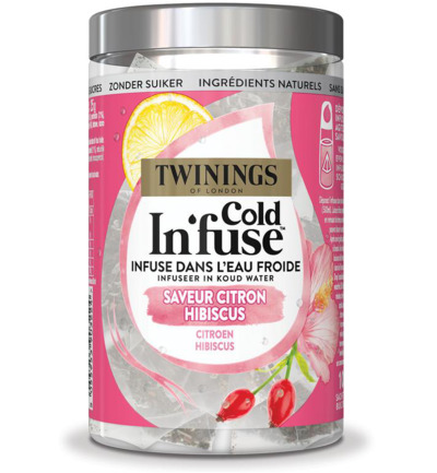 Cold infuse citroen hibiscus