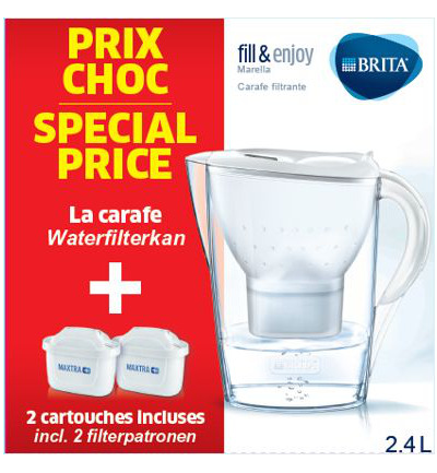 Fill & Enj Marella cool wit & 2 Maxtra waterfilter