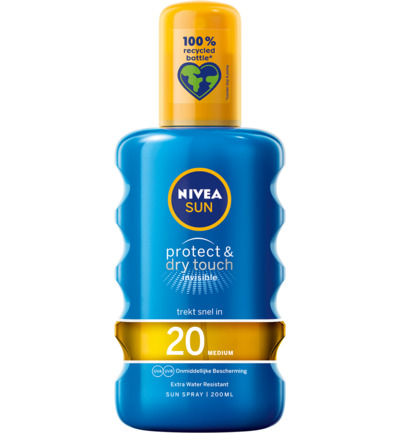 Sun protect & dry touch spray SPF20