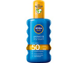Sun protect & dry touch spray SPF50
