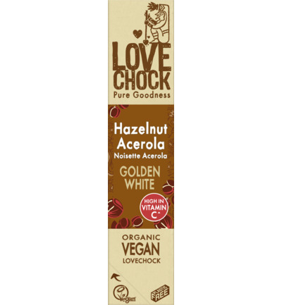 Golden white hazelnut acerola