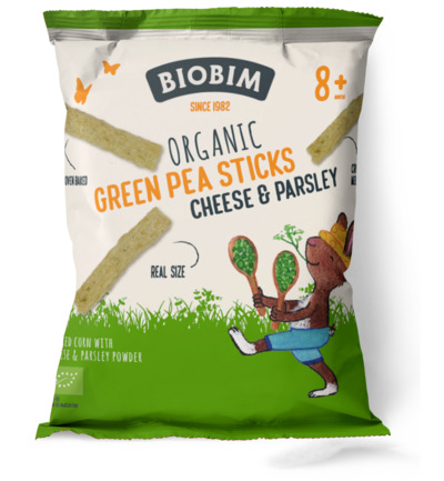 Green pea sticks bio