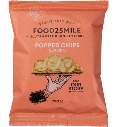Popped chips classic
