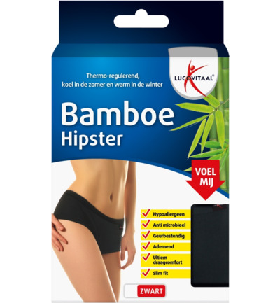 Bamboe hipster maat S