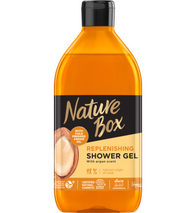 Shower gel argan oil
