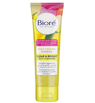 Bright jelly cleanser