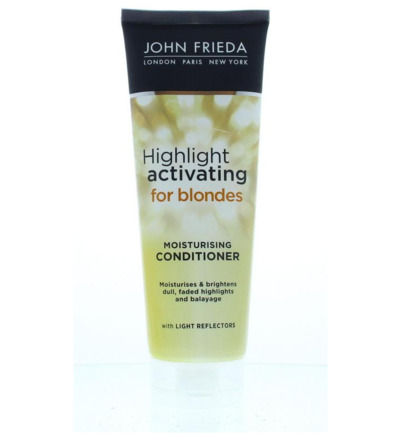 Sheer blonde conditioner highlight activating