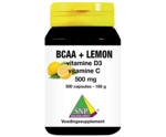 BCAA Lemon vitamine D3 vitamine C 500 mg