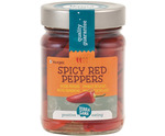 Rode pepers spicy