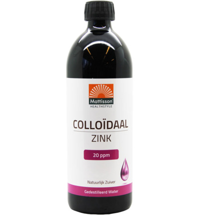 Colloidaal zink 20 ppm