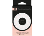 Nails french medium