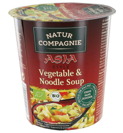 Cupnoodles Asia vegetable bio