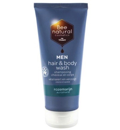 Hair & body wash men rozemarijn
