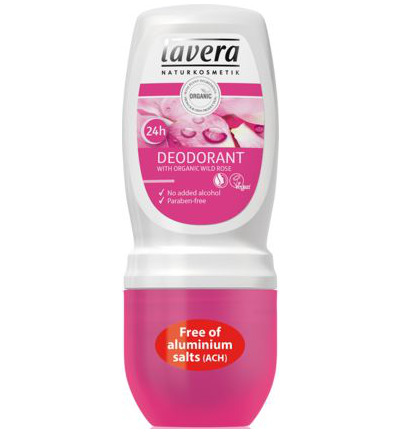 Deodorant roll-on wild rose