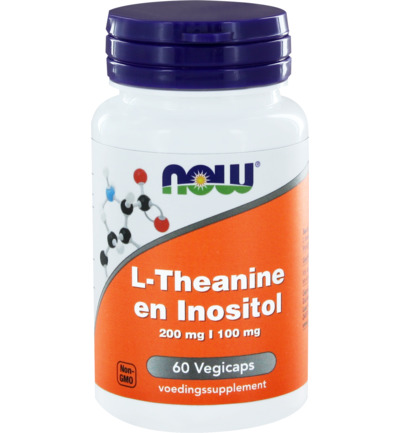 L-Theanine 200 mg met Inositol 100 mg