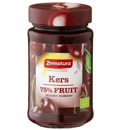 Fruitspread kers 75% bio
