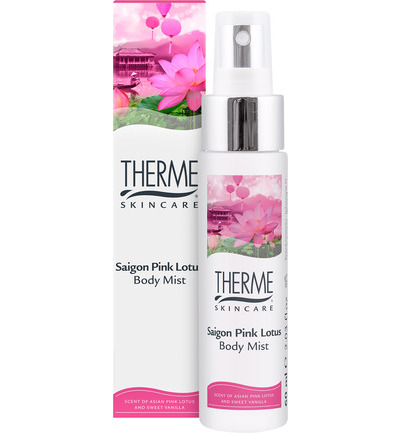 Saigon pink lotus body mist