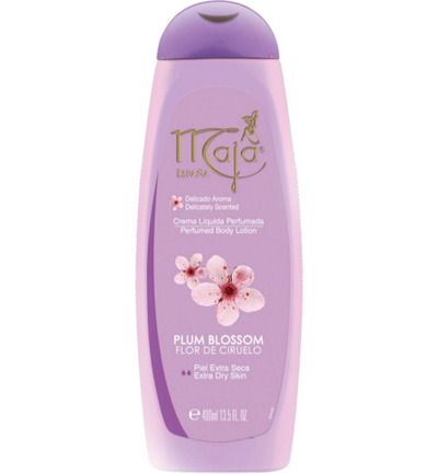 Plum blossom body lotion