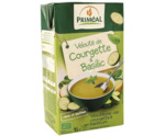 Veloute soep courgette basilicum