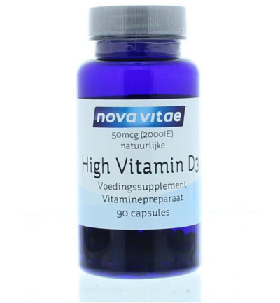 High vitamine D3 2000IU 50 mcg