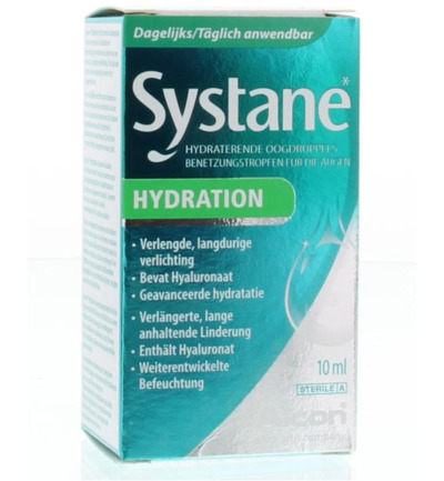 Hydration oogdruppels hyaluronzuur