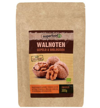 Walnoten half bio raw