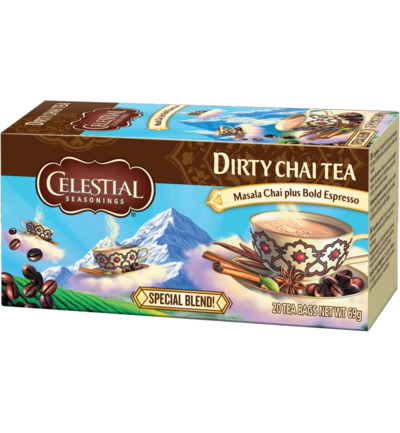 Dirty chai tea