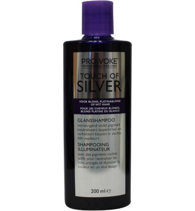 Shampoo touch of silver brightening