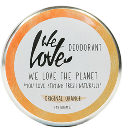The Planet cremedeodorant Origional Orange