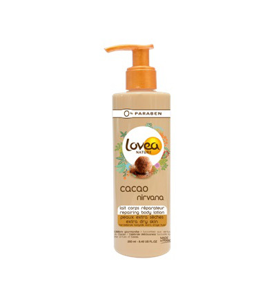 Cocoa body lotion