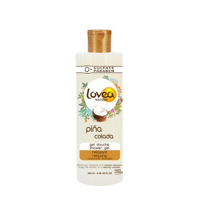Pina colada shower