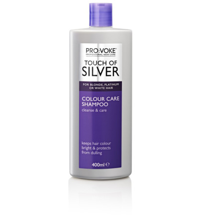 Shampoo touch of silver color care