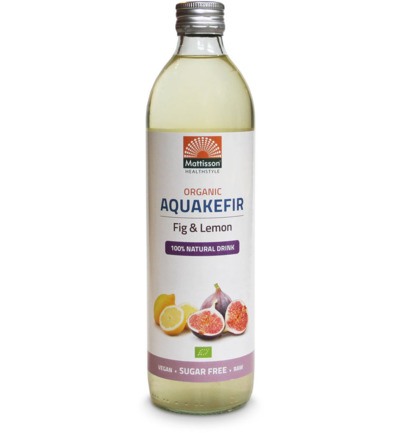 Organic aquakefir fig & lemon