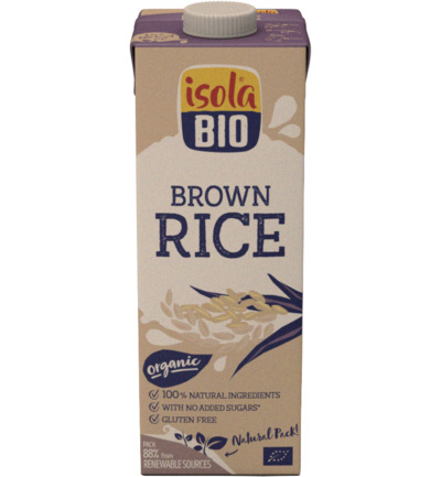 Just brown rice bio