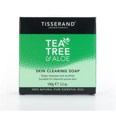 Skin clearing soap tea tree aloe