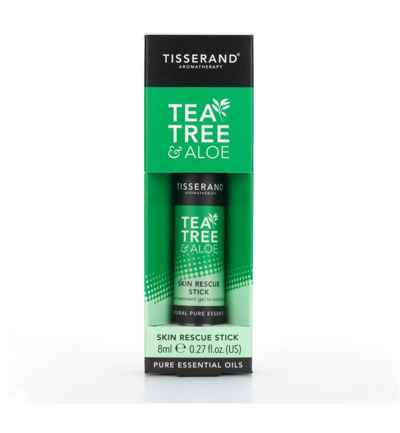 Skin rescue stick tea tree aloe