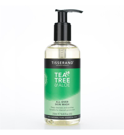 Skin wash all over tea tree aloe