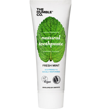Tandpasta natural fresh mint