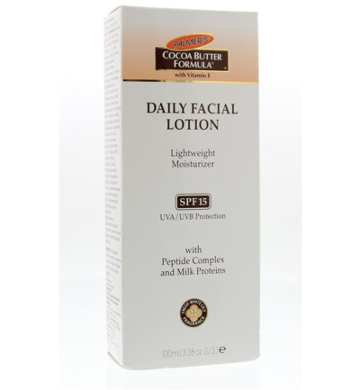 Image of Palmers Facial Lotion Spf15 (100ml)