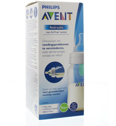 Zuigfles anti-koliek 260 ml