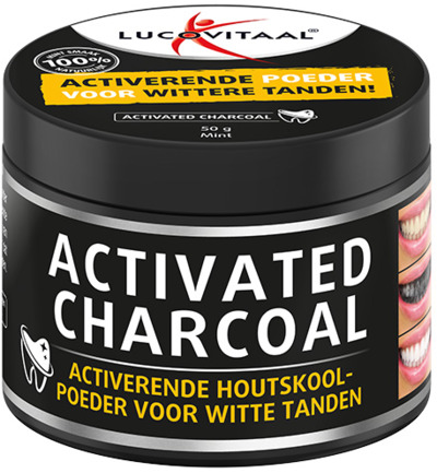 Image of Lucovitaal Activated Charcoal (50g)