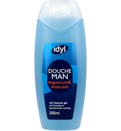 Douchegel man 2 in 1 magnesium & mineralen