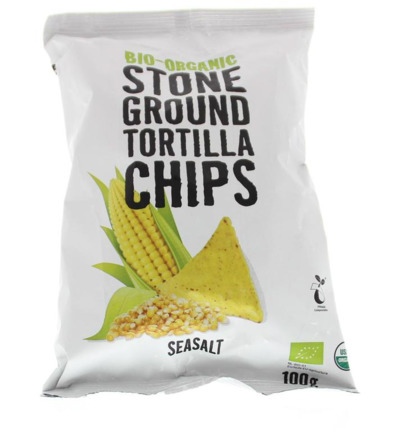 Chips tortilla seasalt bio