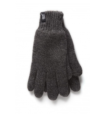 Mens gloves L/XL large charcoal