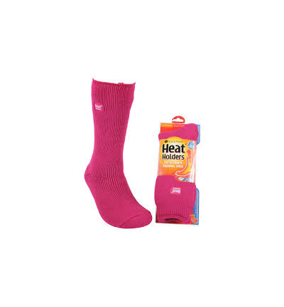Ladies original socks 4-8 raspberry